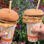 【画像】最近のJKはハンバーガーにストローぶっ挿すのが流行りらしいぞwwwwww