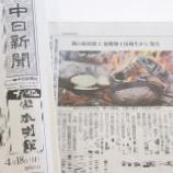 『\中日新聞 掲載/ 売れ行き好調!旋盤加工技術を活かした初の自社商品』の画像