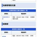『戸田市内各地に「戸田市健康保険課」を名乗る電話がかかってきています。そのような部署は戸田市にはありません。還付金がある、キャッシュカードが不正利用されているは詐欺です!』の画像
