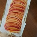 りんごのケーキ。