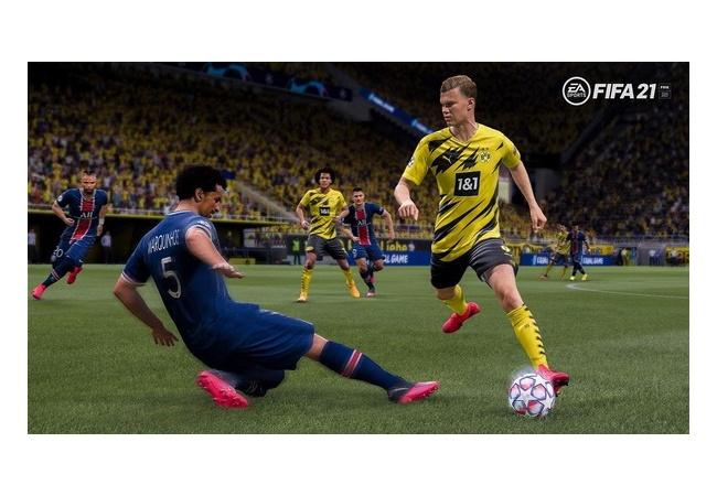 【動画】FIFA21、とんでもないバグが見つかってしまう。シュートが敵に当たると吹き飛ぶ
