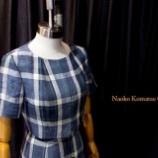 『新作ノーカラー半袖ジャケットが完成。』の画像