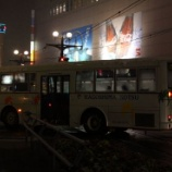 『鹿児島のバスがチェーンを付けて...』の画像