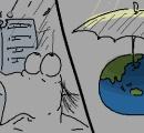 【悲報】人類さん、雨対策が未だに傘