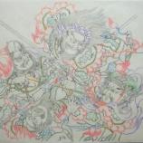 『弘前ねぷた絵277 馬超と潼関の戦い2』の画像