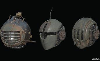 アイボット・ヘルメット / アサルトロン・ヘルメット / セントリーボット・ヘルメット