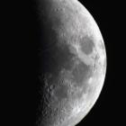 『月齢6.1のお月様』の画像