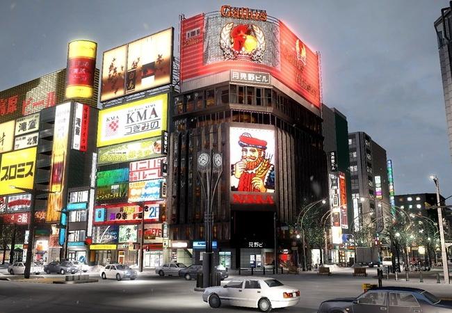 日本が舞台のオープンワールド