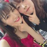 HKT48ひまわり組「誘惑のガーター」公演終了後の写真