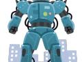 大阪の下町工場が歩行可能なガンダム似ロボを作ってしまう!世界よこれが下町ガンダムだ!
