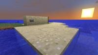 浮遊庭園へのエレベータ