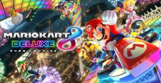 Nintendo Switch「マリオカート8 デラックス」2017年4月28日発売決定!「スプラトゥーン」も参戦へ!