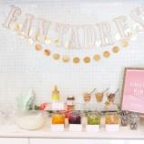 『パーティーの軽食にヨーグルトバー』の画像