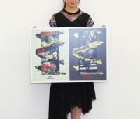 【欅坂46】さとし小型グラフィックD部門に入賞!二科展 国立新美術館にて現在開催中