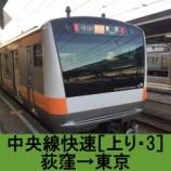 『中央線快速 車窓[上り・3]荻窪→東京』の画像