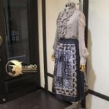 『コレクションシリーズ新作スカートが完成しました。』の画像