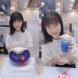 『[=LOVE] モーニング娘。'19の北川さん シナモロールカフェへ…【イコラブ、シナモン】』の画像