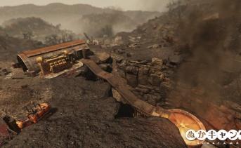 放棄された鉱山シャフト1