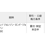 『【JNJ】株価不調のジョンソン&ジョンソンを15万円分買い増したよ!』の画像