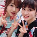 NMB48川上千尋と明石奈津子が指原莉乃とそれぞれ2ショット