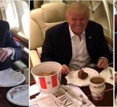 なぜドナルド・トランプはファストフードばかり食べてるのか? 海外の反応。