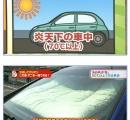 夏場の車の中は70度以上のサウナ状態→布団を入れておく→ダニ全滅