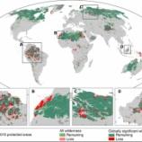 『世界の原生自然環境保全地域』の画像