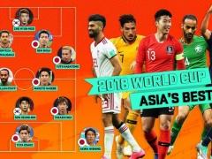 ロシアW杯アジアベスト11!日本代表から香川ら最多6人!なお、サウジ・・・