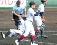 大阪の公立校として26年ぶりに近畿大会出場を果たした山田、初戦突破ならず 龍谷大平安に敗れる