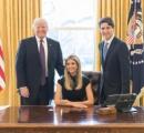 イヴァンカ・トランプさん、大統領執務室での写真を公開 「何様?」と反感買う
