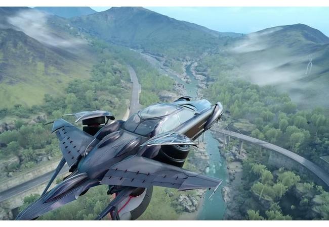 『FF15』今回の飛空艇はこちら!