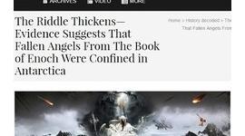 南極に堕天使が閉じ込められていることが「謎の重力異常」で判明か…禁断の聖典『エノク書』と完全一致