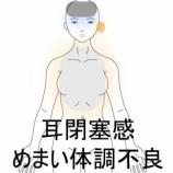 『眼振めまいメニエール病 室蘭登別すのさき鍼灸整骨院 症例報告』の画像