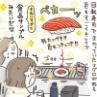 絵に描いたようなお寿司