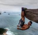【画像】崖から落ちそうになっている写真が撮れるブラジルの観光スポットが話題に
