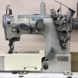『ペガサス製W562-02BB(3本針両面飾り縫いミシン)の中古ミシンをお届けしました!』の画像