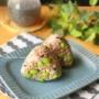 【レシピ】運動後の補食にオススメ♪とろろ梅昆布枝豆のおにぎり♡ と メモ帳のその後。