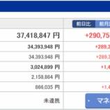 『【運用状況】2016年9月の資産総額は3741万円でした』の画像