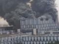 【画像あり】中国ファーウェイの実験施設で大規模火災