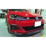 『【スタッフ日誌】VW Golf7.5 GTIにm+ × VaryReife Front Lip Spoiler for Golf7.5 GTI(カーボン/(平織)) を装着いたしました!』の画像