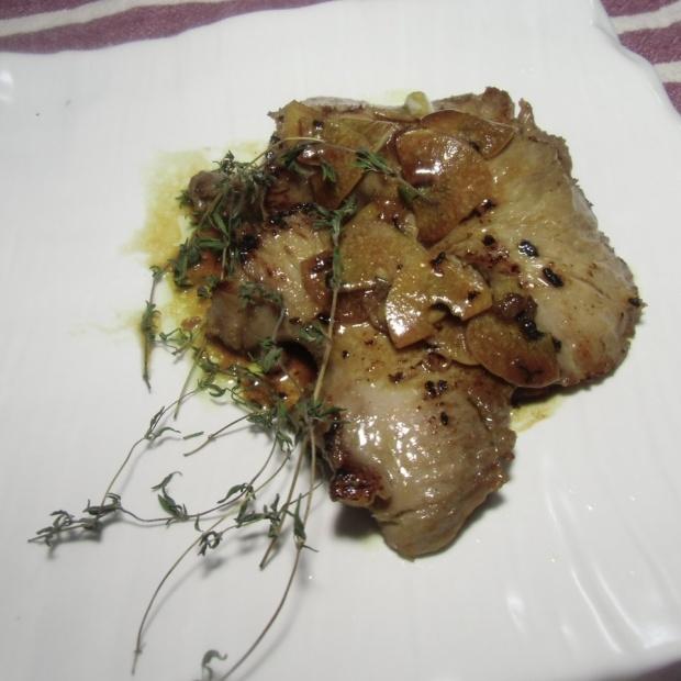 マグロほほ肉のステーキ