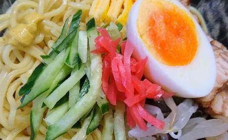 「念願の冷し中華」を食す