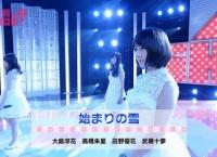 AKB48SHOWにて高橋朱里、田野優花、武藤十夢、大島涼花が「始まりの雪」を披露!