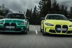 BMW、新型「M3」「M4」初公開!グリルはより派手に