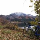 初冬の内の倉ダム湖 サイクリング100Km