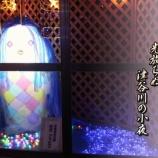『中津谷川イルミネーション街道』の画像