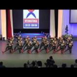 『今宮高校ダンス部 2016アメリカ遠征 Team Cheer HipHop部門で2位』の画像