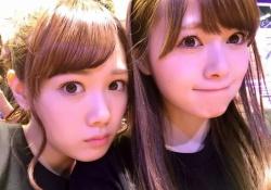 最強すぎる・・・白石麻衣×永島聖羅のエモエモ2ショット!!!