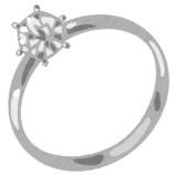 『【悲報】好きな女が小指に指輪してた・・・』の画像