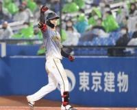 中野拓夢(遊) .277 24盗塁(セ1位) 32打点←ドラ6のコイツ